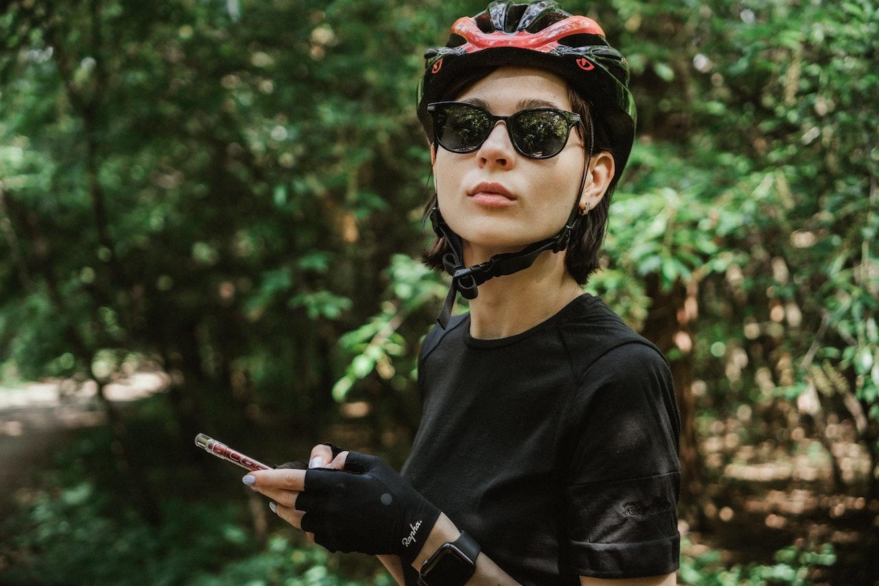自転車ウェア女性