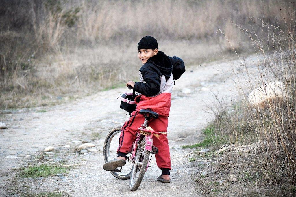 自転車止まるとき