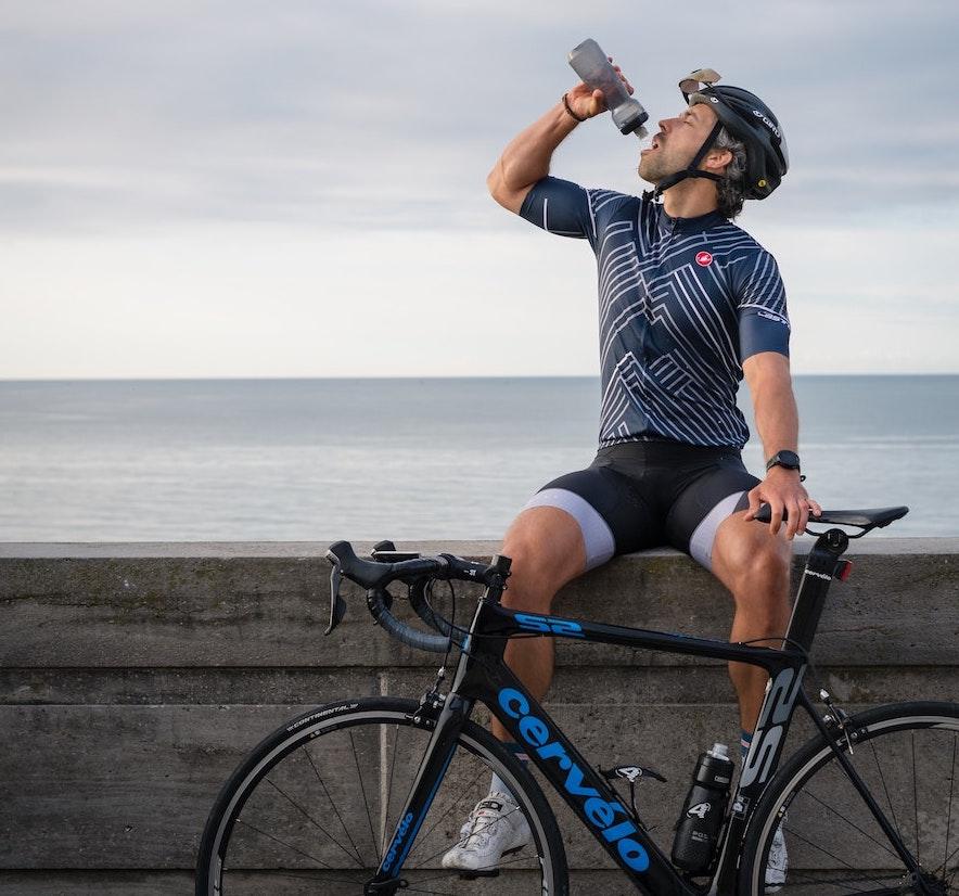 サイクリング 給水
