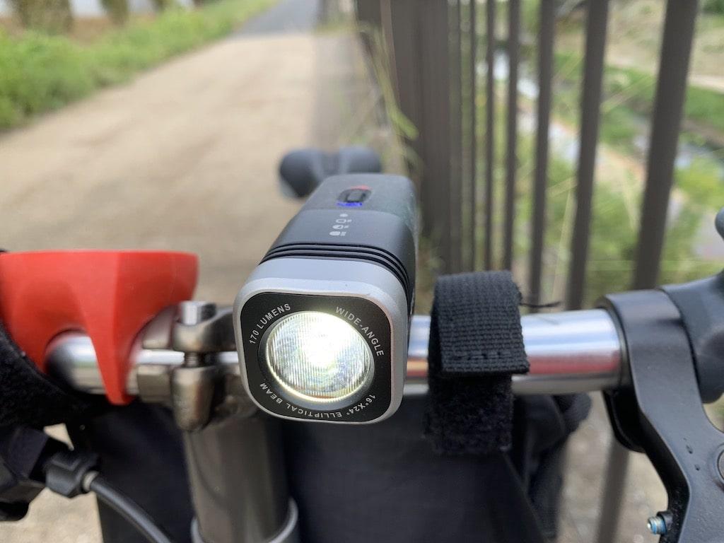 自転車フロントライト