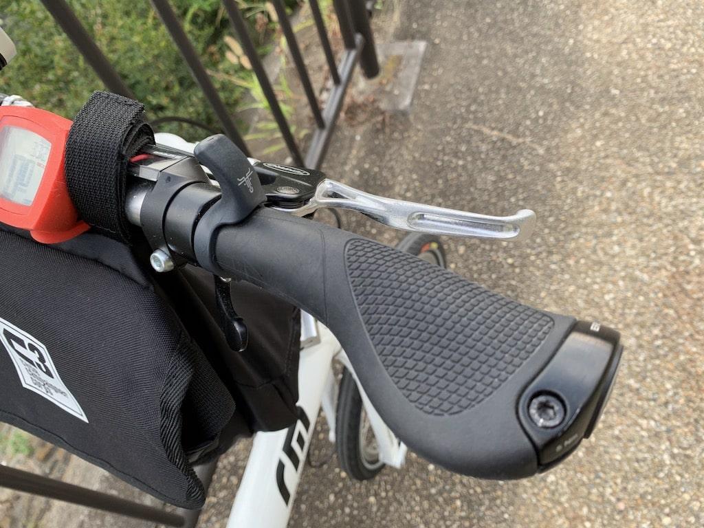 自転車コンフォートグリップ