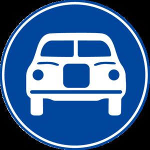 標識 自動車専用道