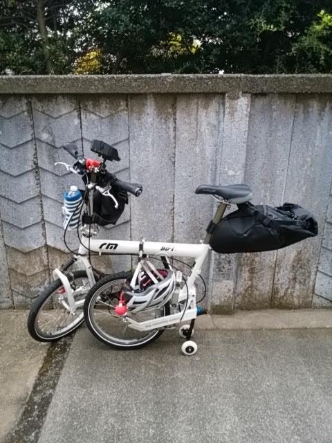 輪コロで駐車