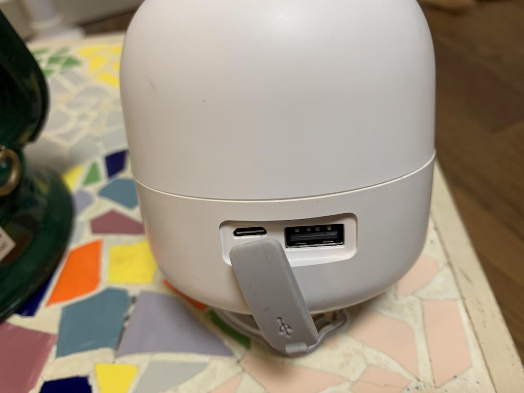 LEDランタン充電