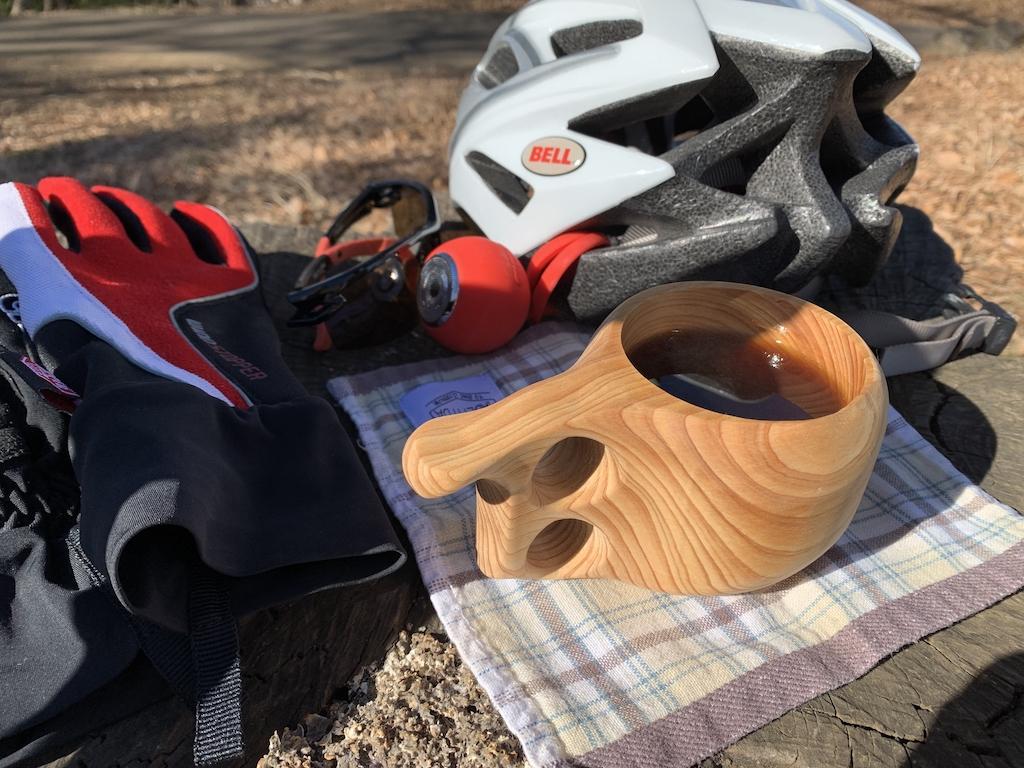 サイクリングとククサ