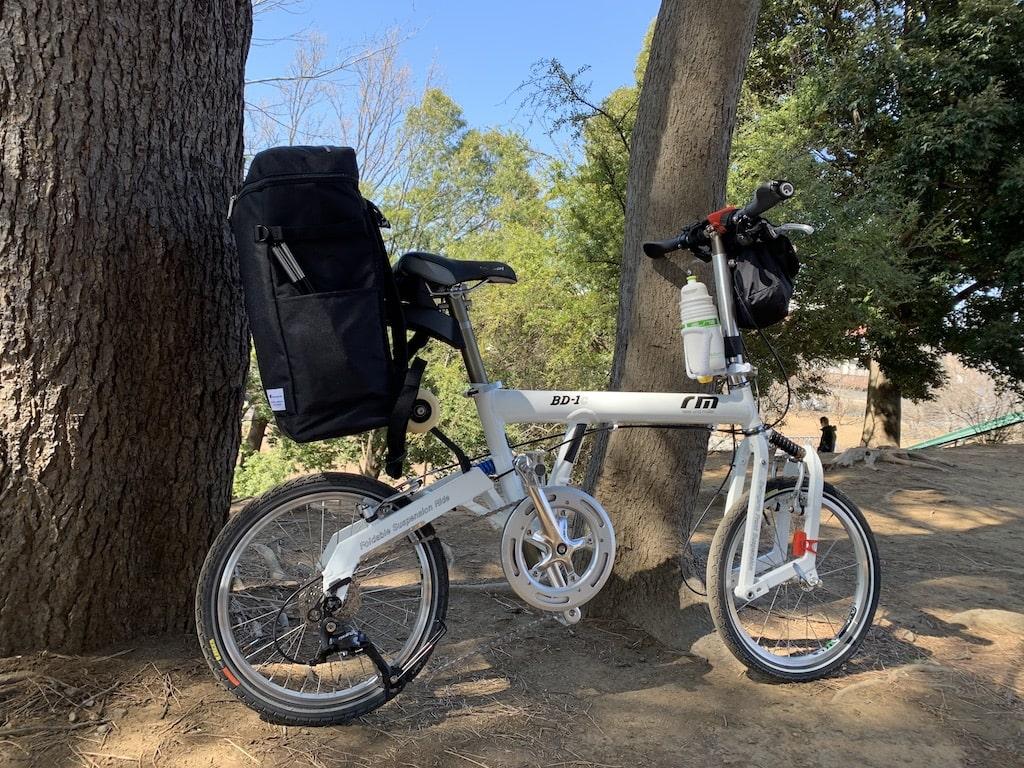 リクセン化 折り畳み自転車