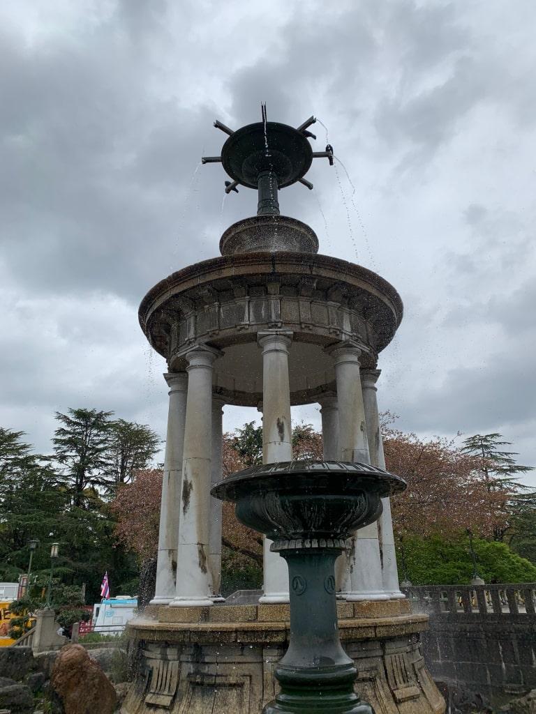 鶴舞公園の噴水