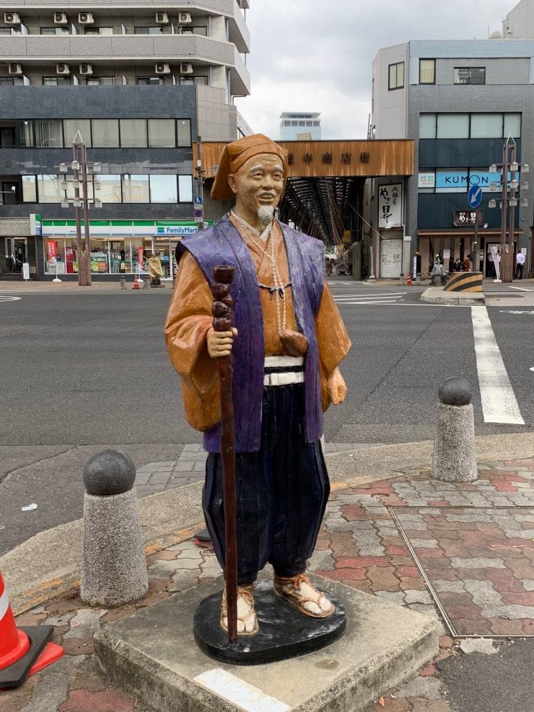円頓寺商店街の水戸黄門像