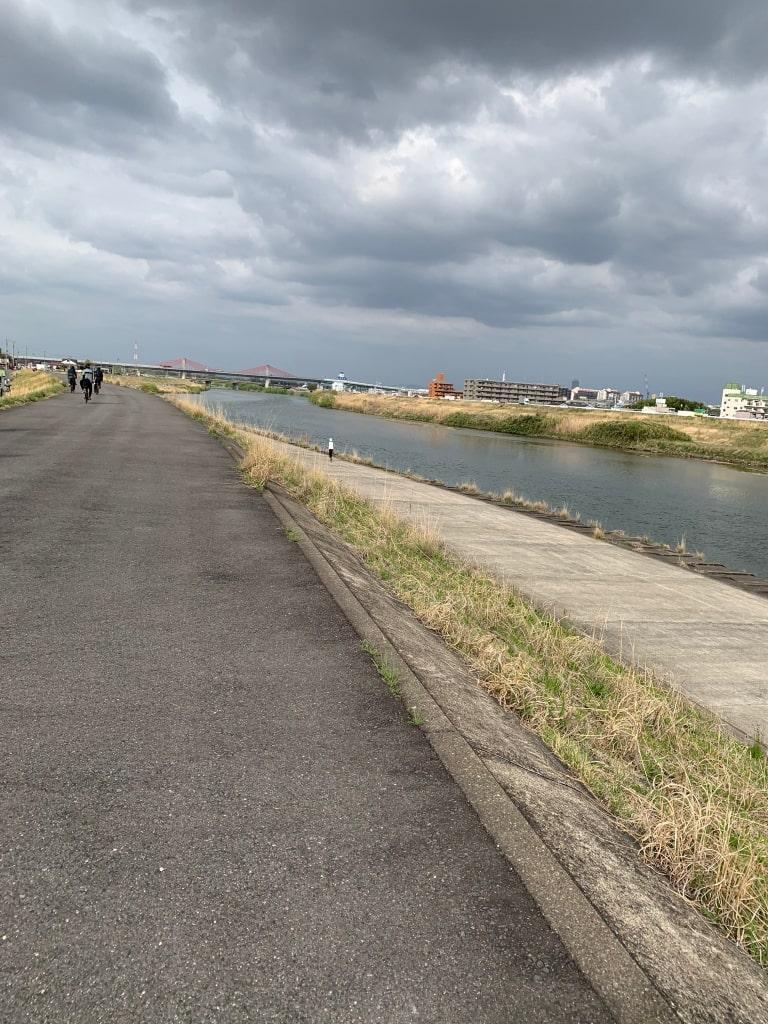 庄内川サイクリングロード
