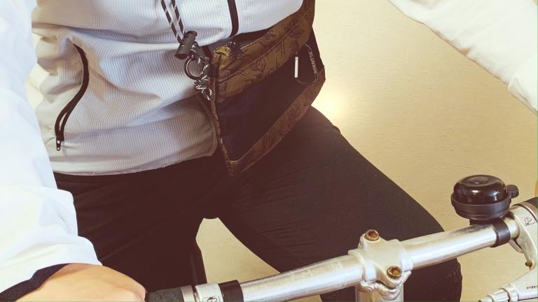 GUサコッシュ 自転車