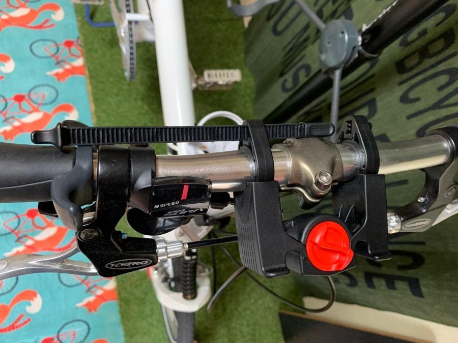 ブラックバーン ハンドルバーロール ハードウェア 大型タイラップ
