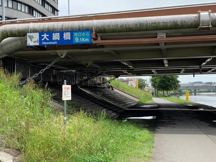 大綱橋 鶴見川