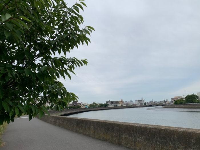 鶴見川 鶴見橋付近 迂回
