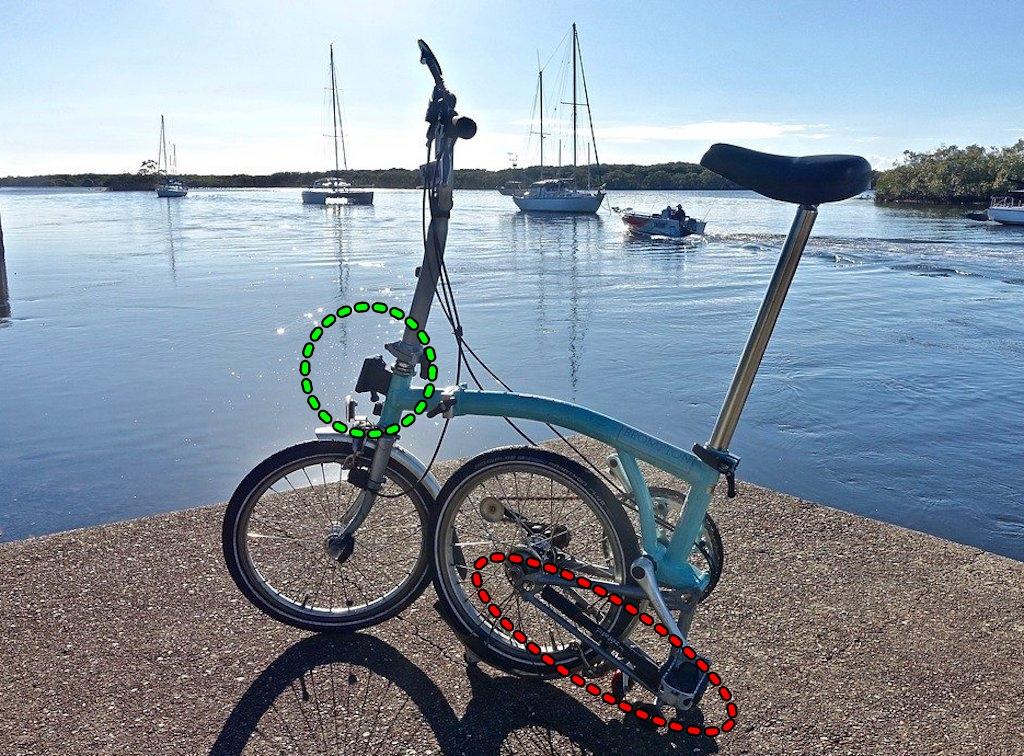 burompton 折り畳み自転車
