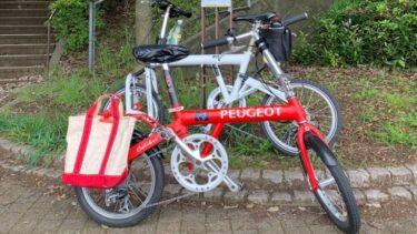 娘とポタリング【自転車日記 15キロコース】