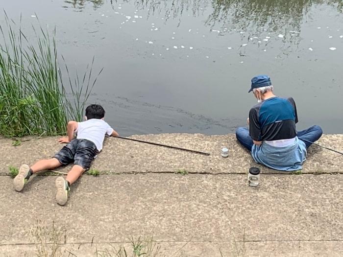 早渕川 釣り