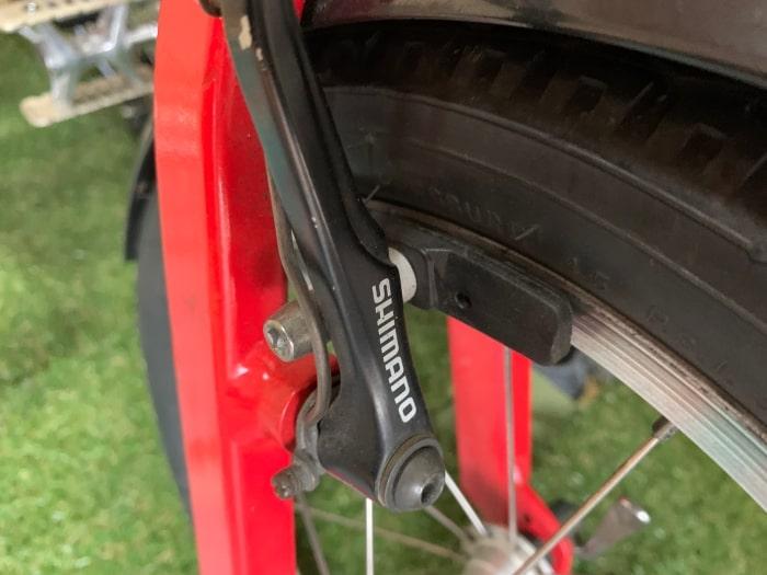 自転車 ブレーキ リム