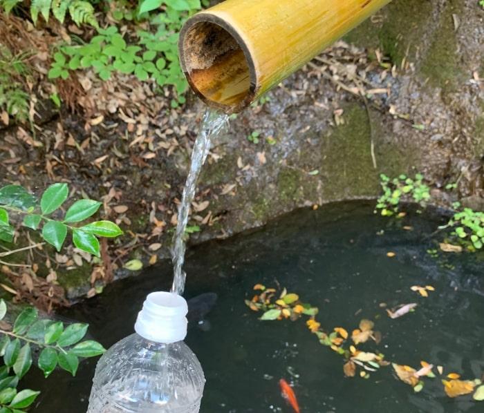 湧き水 貰い水
