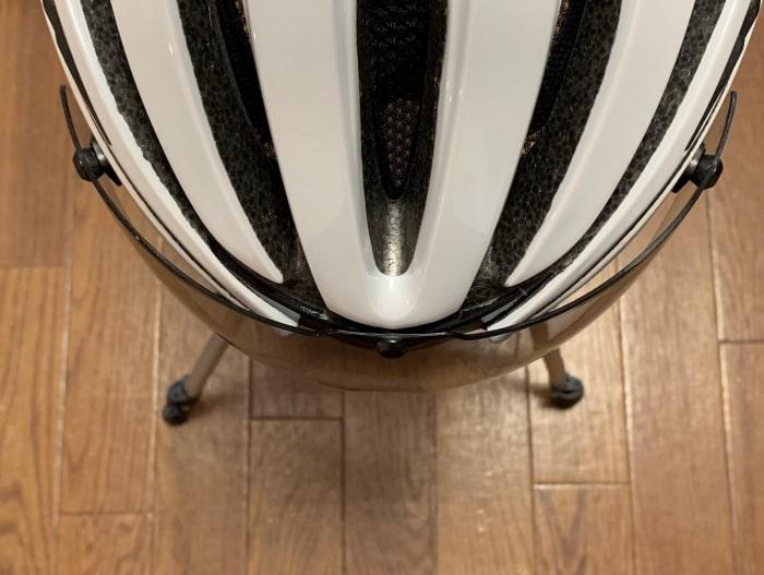 シールド ヘルメット 空間