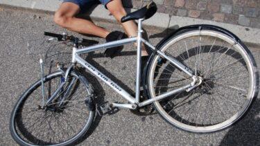 スポーツ自転車を乗り始めた頃、こんなとき転倒しました。理由を知れば、初心者の方も安心!